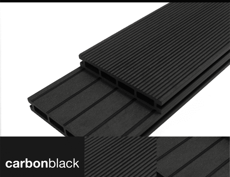 CarbonBlack Composite Decking