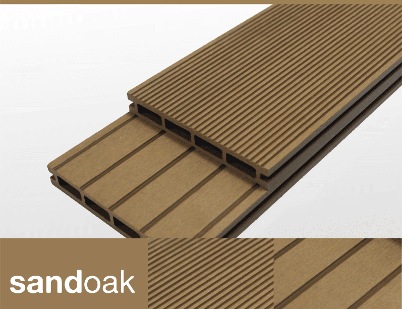 SandyOak Composite Decking