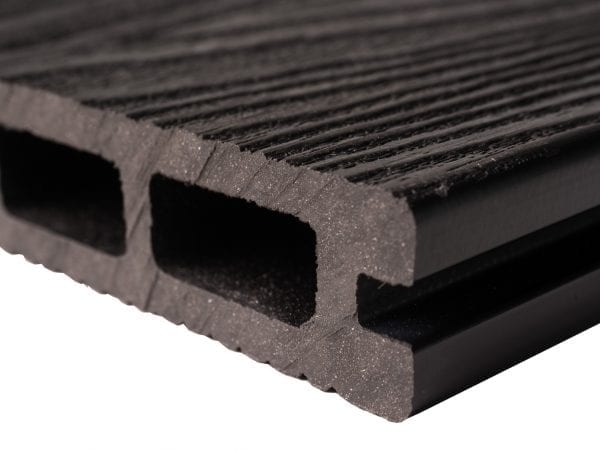 Wood Grain Slate Grey Composite Decking Boards