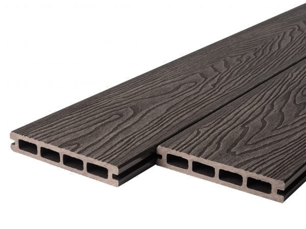 Wood Grain Silver Tree Composite Decking Boards