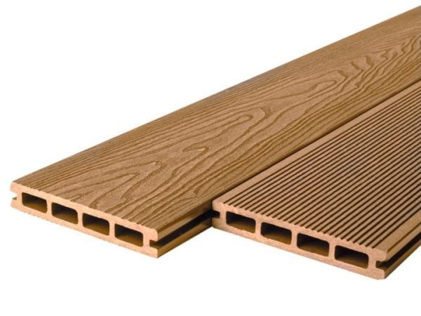 Wood Grain Grand Oak Composite Decking Boards