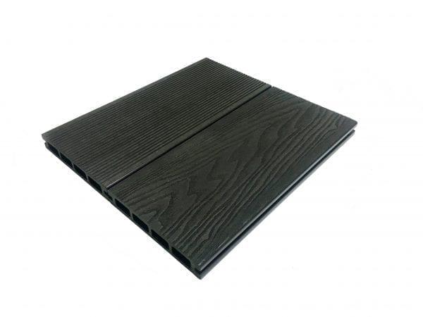 Wood Grain Slate Grey Composite Decking Boards